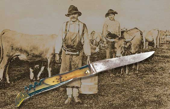 The Laguiole knife history